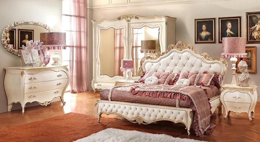 купить элитные спальни италии итальянскую мебель фабрика Signorini