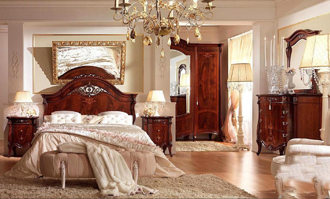 купить элитные спальни италии итальянская мебель фабрика Barnini
