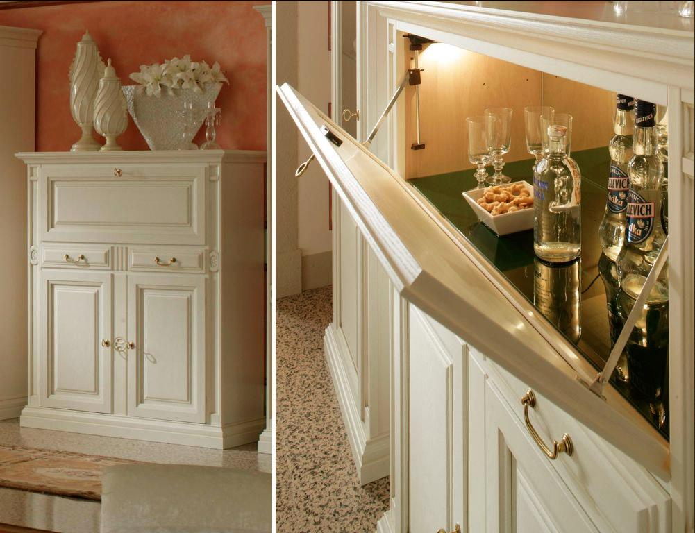 Барный Шкаф Для Гостиной В Москве