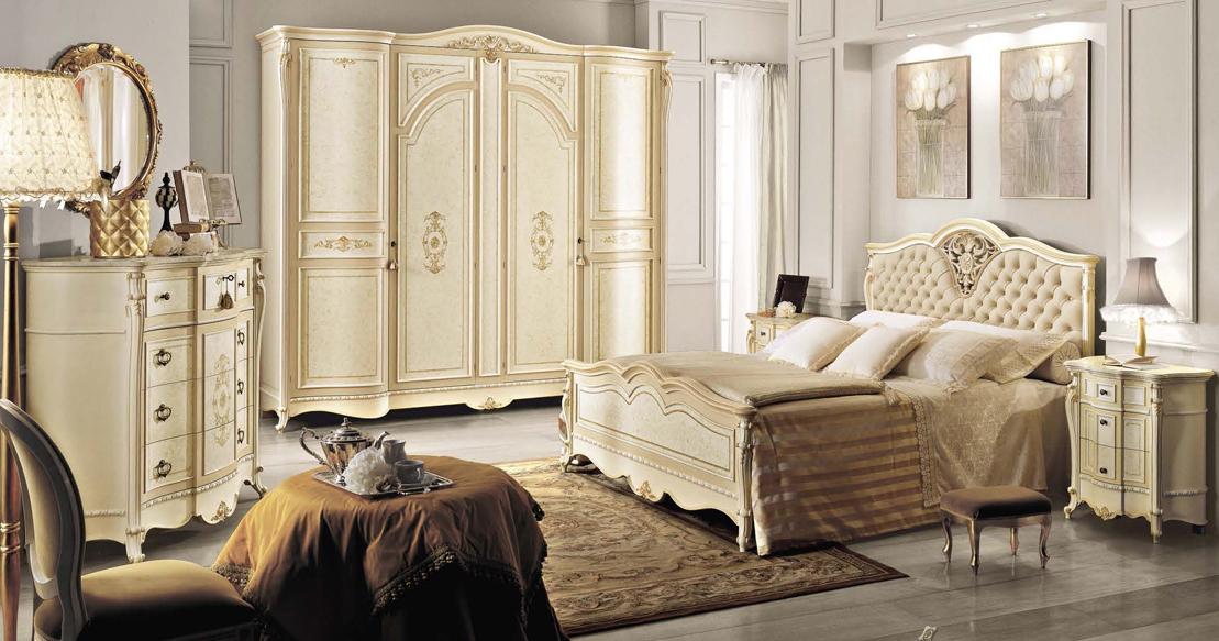 купить итальянская мебель спальни италии классика спальня Partenope