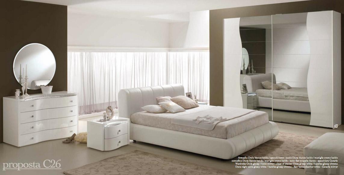 спальни италии модерн итальянская мебель Prestige C26 белой спальней